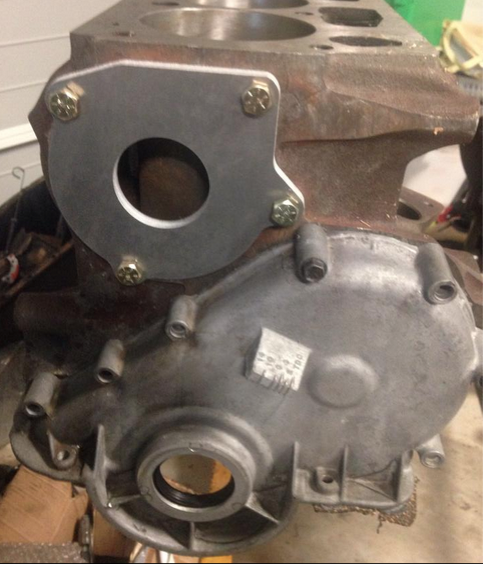 Ford x flow water pump blanking plates